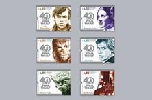 Selos assinalam os 40 anos de 'Guerra das Estrelas'