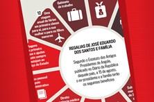 Regalias de José Eduardo dos Santos e família