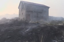 Dominado incêndio na Covilhã