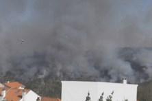 Bombeiro ferido no combate às chamas na Guarda