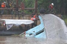 Sete mortos em naufrágio no Brasil