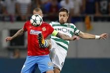 Sporting apurado para a Liga dos Campeões ao vencer Steaua por 5-1