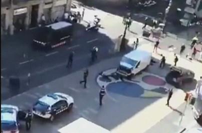 Reações ao atentado no coração de Barcelona