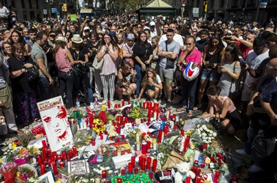Vítimas portuguesas no terror de Barcelona