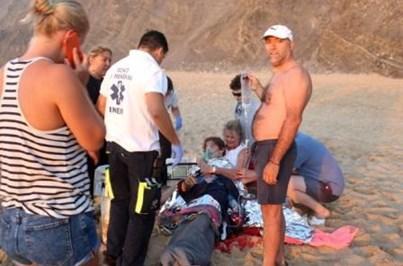 250 incidentes no mar desde o início do verão no Algarve