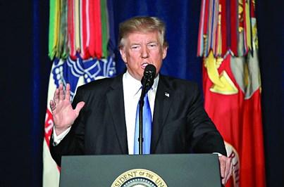Trump envia tropas para o Afeganistão