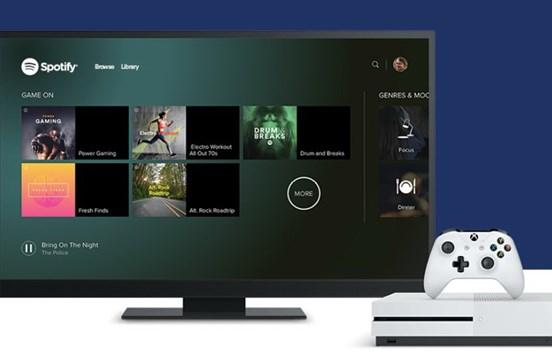 Spotify já chegou à Xbox One