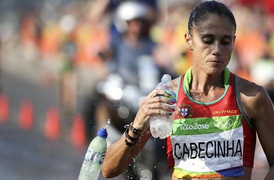 Ana Cabecinha termina em sexto lugar nos 20km marcha