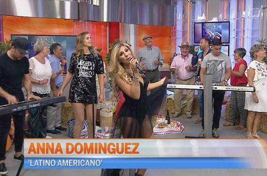 Anna Dominguez anima o Manhã CM
