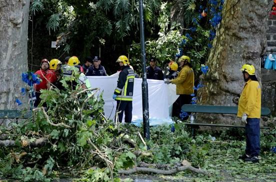 População revoltada com tragédia anunciada na Madeira