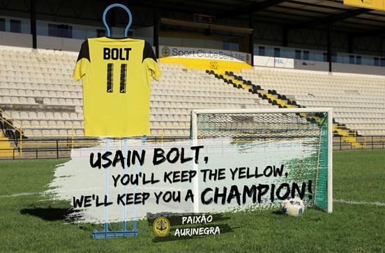 Beira-Mar oferece bifanas e ovos moles para contratar Usain Bolt