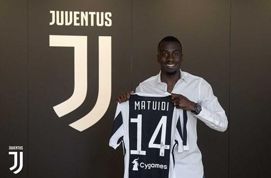 Matuidi já foi apresentado na Juventus