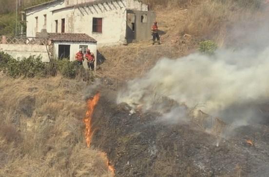 Incêndio em Gavião dado como dominado