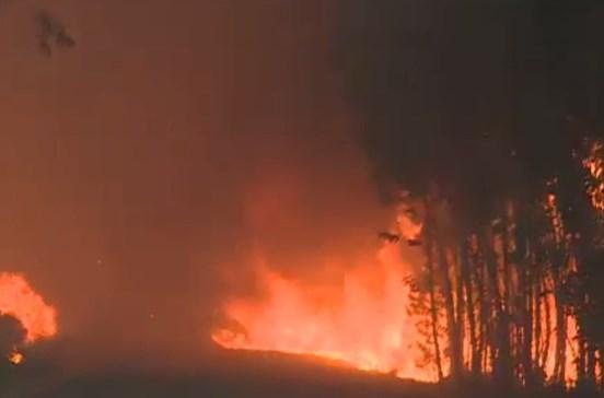 Porto de Mós é o fogo que mobiliza mais meios