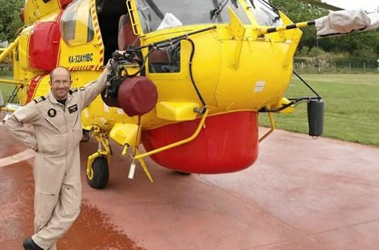 Conheça o piloto que se despenhou no combate aos fogos