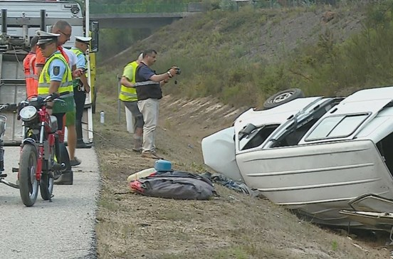 Homem morre em acidente na A1