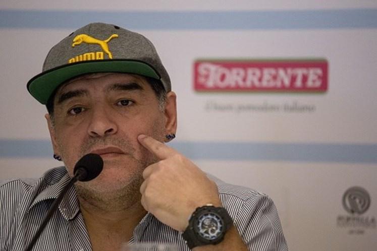 Maradona apoia Maduro e se oferece como 'soldado para uma Venezuela livre'