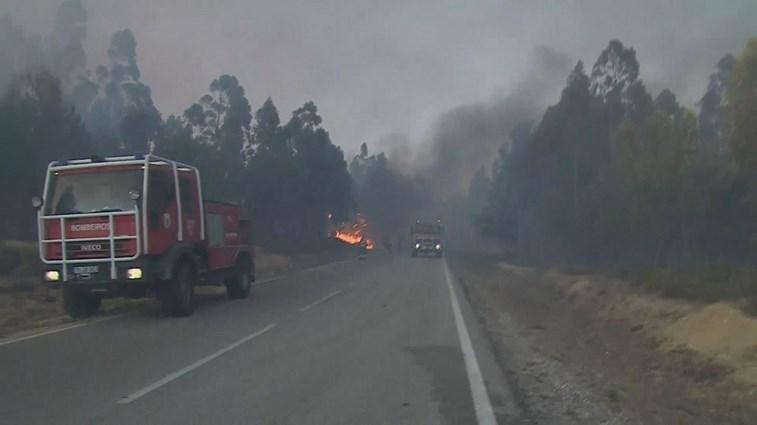 Mais de 1.600 operacionais combatem fogos. Abrantes mobiliza mais meios
