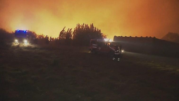 Câmara de Vila Real aciona Plano de Emergência Municipal — Incêndios
