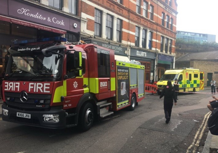 Borough Market: Restaurante evacuado por causa de envelope. Há feridos