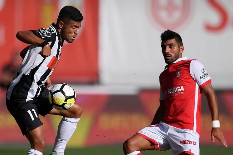 SC Braga vira o resultado e impõe vitória ao Portimonense