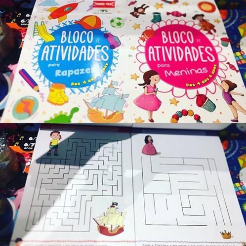 Livro de exercícios da Porto Editora discrimina género das crianças
