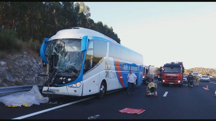 Acidente com autocarro e camião provoca 1 morto e vários feridos