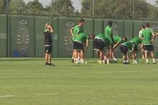 Sporting roda a equipa a pensar no clássico com o FC Porto