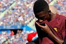 Barcelona confirma ausência de Dembélé até 2018 e poupa pagamento de 10 milhões