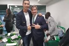 Bruno de Carvalho anuncia em Alvalade que vai voltar a ser pai