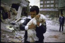 As imagens do sismo que abalou o México em 1985
