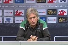 Jorge Jesus desvaloriza atraso do Benfica no campeonato