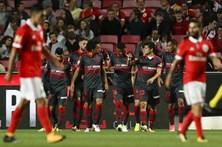 Benfica empata com Braga e prolonga crise de resultados