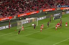 Veja o resumo do Benfica 1 - 1 Braga
