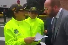 Executivo português preso na Colômbia