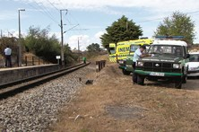 Bebé trucidado por comboio tinha escapado de morte na estrada