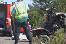 Despiste de moto-quatro faz um morto em Óbidos