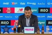 Sérgio Conceição critica jornalistas pelas perguntas sobre a crise do Benfica
