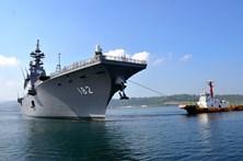 Japão e EUA realizam manobras no Pacífico