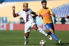 Desportivo de Chaves vence em casa do Estoril e 'salta' para oitavo