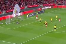 Resumo do jogo Benfica 2 - 0 Paços de Ferreira