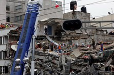 Três mortos em novo sismo registado no México