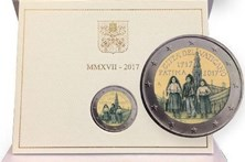 Vaticano celebra Aparições com moeda dos Três Pastorinhos