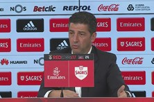 Treinador do Benfica destaca vitória justa dos encarnados