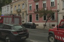 Incêndio em Coimbra faz dois feridos