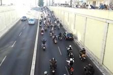 Motards 'distintos' invadem Lisboa em passeio solidário