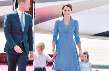Príncipe George quebra tradição da família real britânica