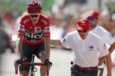 Chris Froome vence 'crono' na Volta a Espanha e reforça liderança