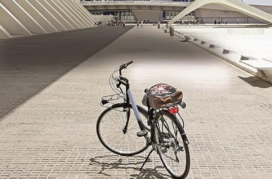 Descobrir Valência de bicicleta