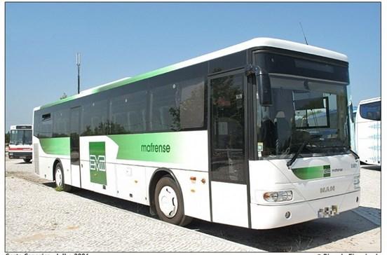 Autocarro que levava 40 crianças pegou fogo em Mafra
